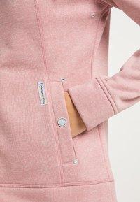 Schmuddelwedda - Zip-up hoodie - rosa melange - 3