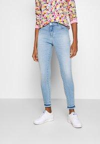 Opus - EVITA - Slim fit jeans - fresh blue - 0
