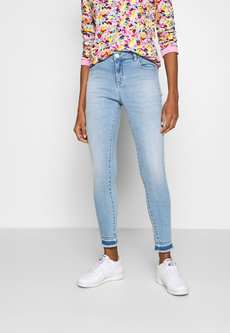 Opus - EVITA - Slim fit jeans - fresh blue