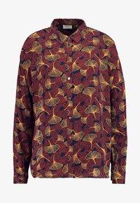 Vila - VIOPENING PEYTON - Button-down blouse - navy blazer/kecthup - 4