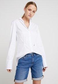 Seidensticker - Button-down blouse - white - 0