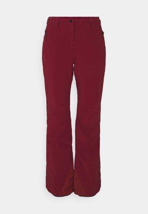 THE BRILLIANT PANT - Zimní kalhoty - pomegranate