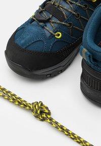 CMP - KIDS RIGEL MID SHOE WP UNISEX - Obuwie hikingowe - blue ink/yellow - 5