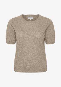 Part Two - EVERLOTTEPW  - Basic T-shirt - light camel melange - 5