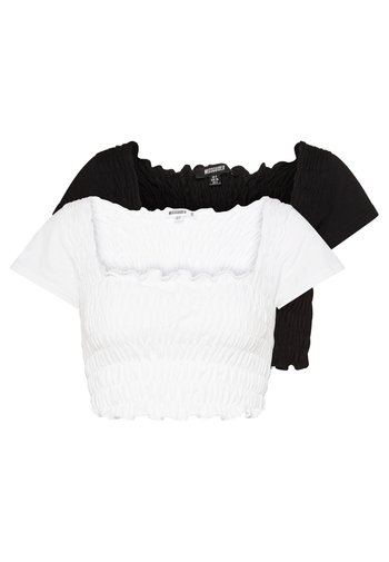 SHIRRED CROP 2 PACK