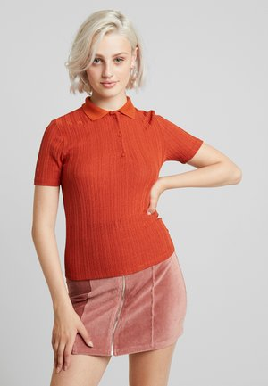 Blouse - rust