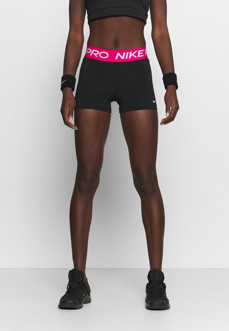Nike Performance - Punčochy - black/fireberry/white