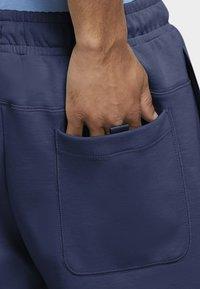 Nike Sportswear - MODERN - Shorts - midnight navy/ice silver/white/white - 5