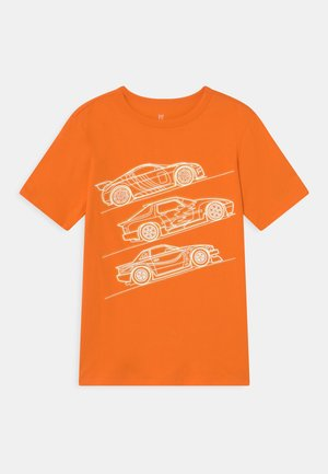 VALUE GRAPHICS - Print T-shirt - orange peel