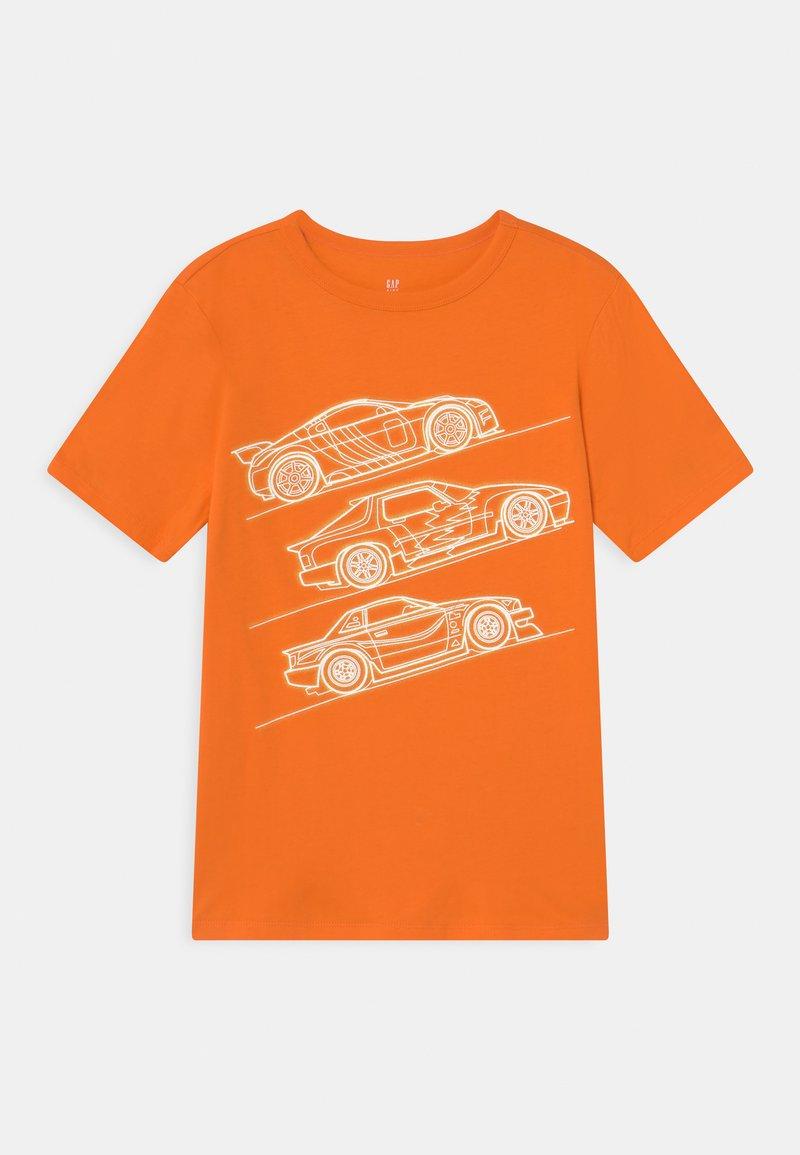 GAP - VALUE GRAPHICS - Print T-shirt - orange peel