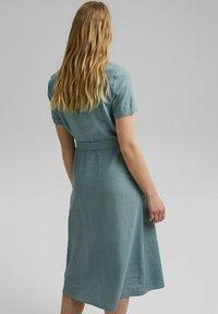 Esprit - Shirt dress - turquoise - 2