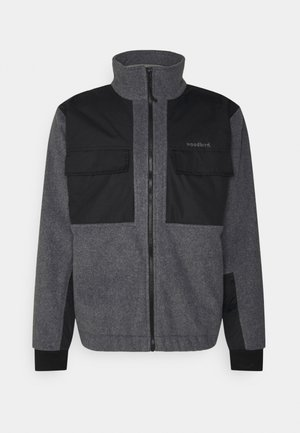 STRUKT ZIP - Summer jacket - dark grey