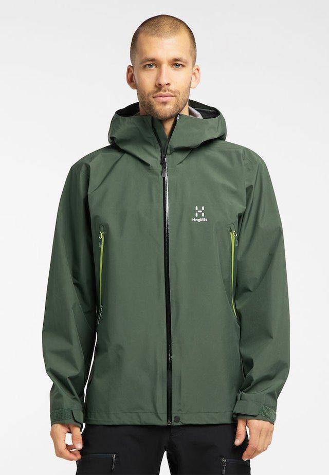 ROC GTX JACKET - Hardshell jacket - fjell green