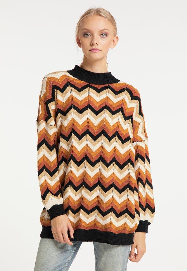 Jersey de punto - braun