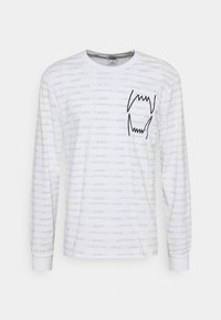 Puma - HOOPS TEE - Long sleeved top - white - 4