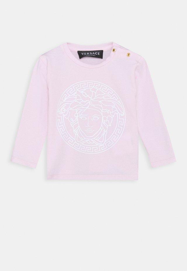MAGLIETTA MANICA LUNGA UNISEX - T-shirt à manches longues - rosa/bianco