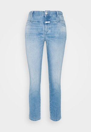 PEDAL QUEEN - Džíny Straight Fit - mid blue