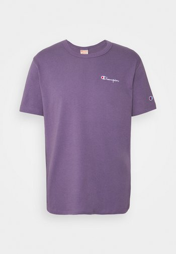 CREWNECK LABELS - T-shirt imprimé - lilac