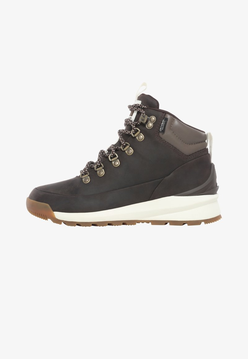 The North Face - W BACK-TO-BERKELEY MID WP - Outdoorschoenen - demitassebrn/bipartisnbrn