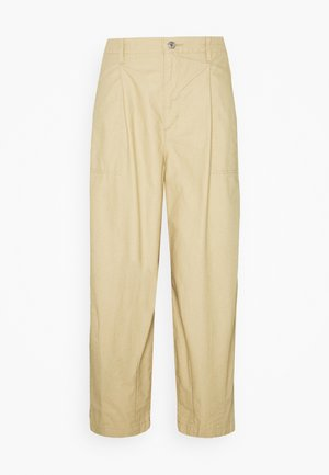UTILITY PLEATED BALLOON - Pantaloni - crisp