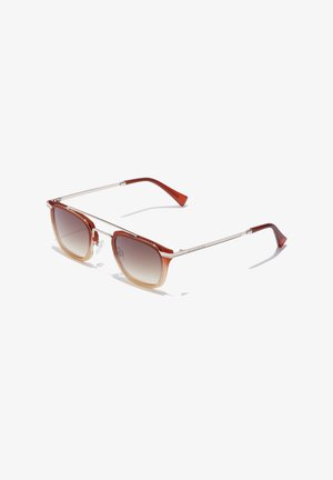 RUSHHOUR - Sunglasses - red/brown/gold