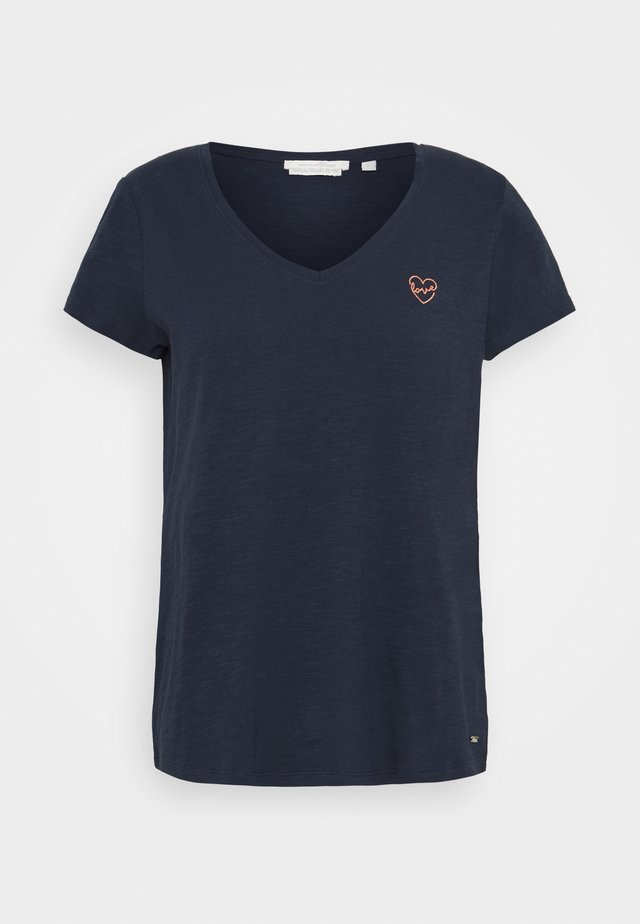 EMBRO - Basic T-shirt - real navy blue