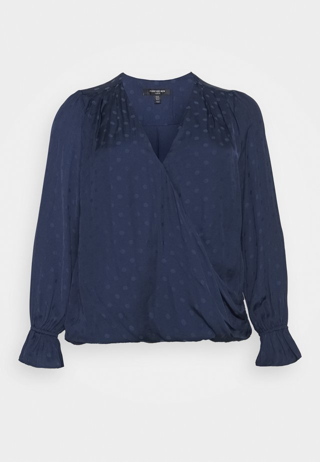 SANDY SPOT BLOUSE - Blouse - navy