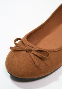 Anna Field - Ballet pumps - cognac - 5