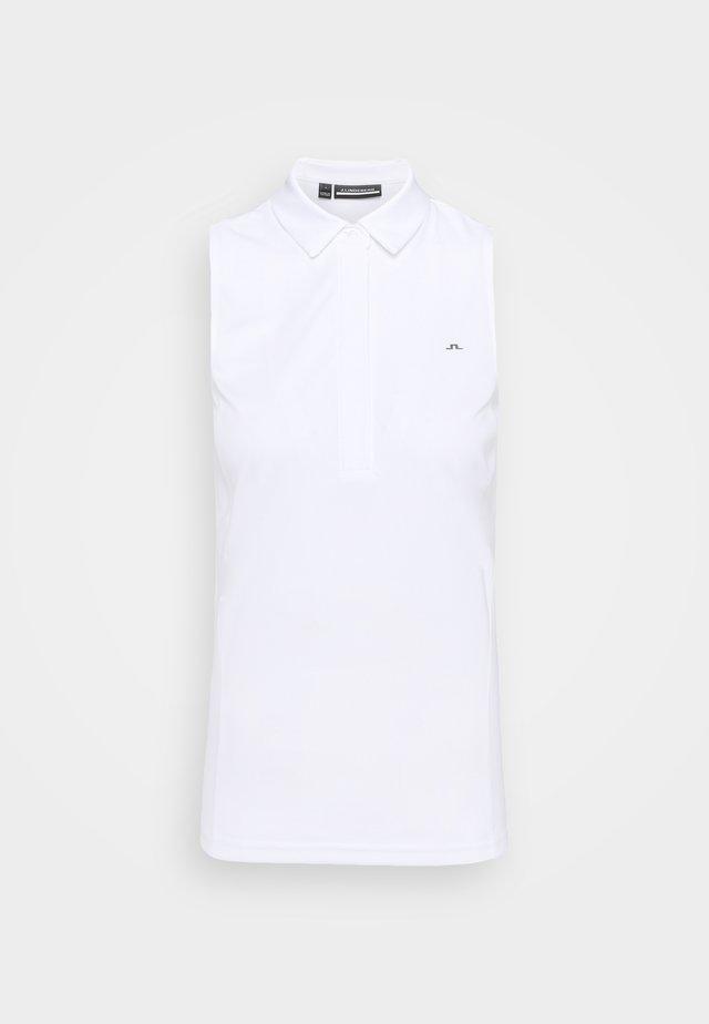 DENA SLEEVELESS GOLF  - Poloshirt - white