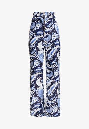 PAISLEY PANT - Trousers - royal