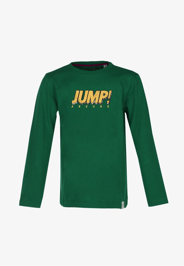 JUMP - Long sleeved top - dark-green