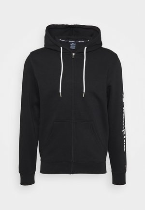 LEGACY - veste en sweat zippée - black