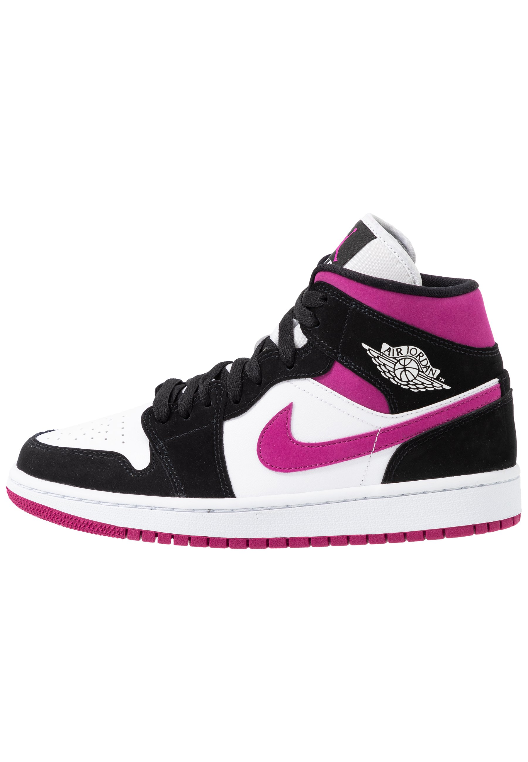 AIR 1 MID - Sneakers alte - black/cactus flower/white