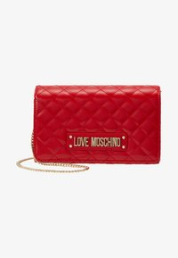 Love Moschino - Across body bag - red - 5
