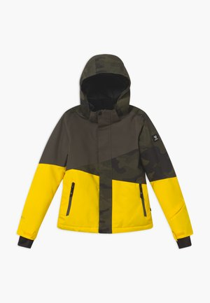IDAHO BOYS - Snowboard jacket - cyber yellow