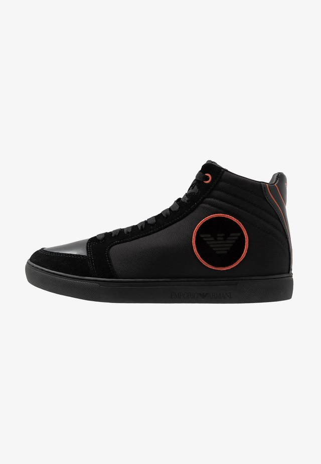 Höga sneakers - black/ginger