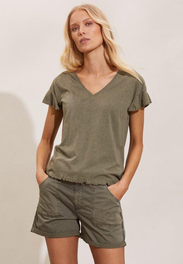 CAMELLIA - T-shirt - bas - frigid green