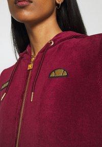 Ellesse - JUSTIA - Zip-up hoodie - burgundy - 5