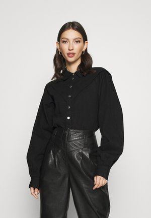CASUAL WESTERN  - Button-down blouse - black