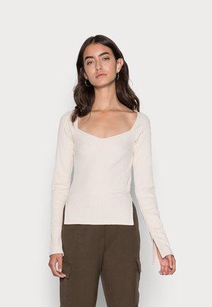 SANNE  - Long sleeved top - cream