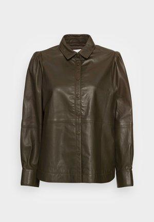 EDIE PUFF  - Button-down blouse - wren