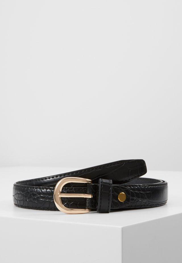 BELT  - Cinturón - black