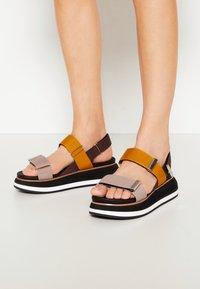 Gioseppo - Platform sandals - black - 0