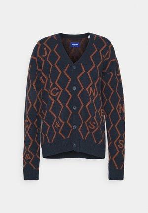 JORSNAKE CARDIGAN - Cardigan - navy blazer