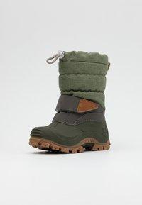 Lurchi - FINN - Zimní obuv - light olive - 1