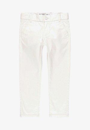 SATIN  - Trousers - white