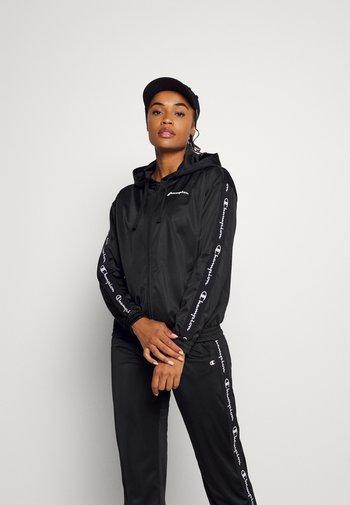 HOODED FULL ZIP - Treningsjakke - black