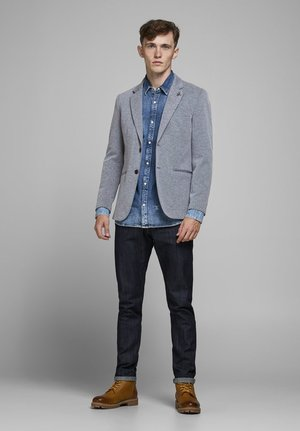 JPRSIMON - Blazer jacket - chambray blue