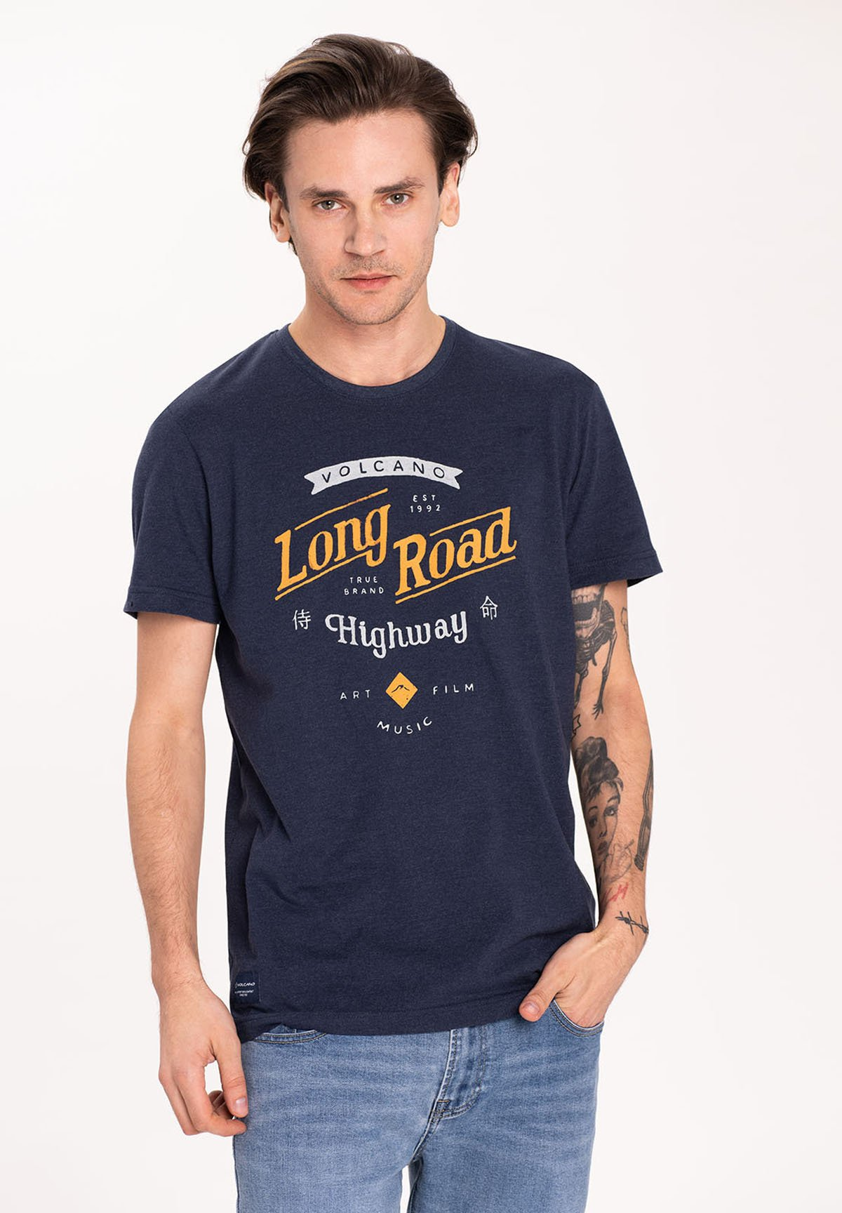 Herren T-FIRST - T-Shirt print