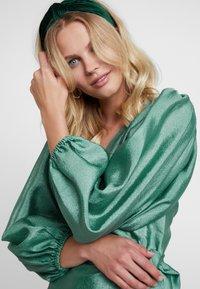Samsøe Samsøe - MAGNOLIA SHORT DRESS - Cocktail dress / Party dress - green - 4